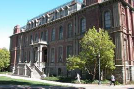 A photo of Berkeley's South Hall