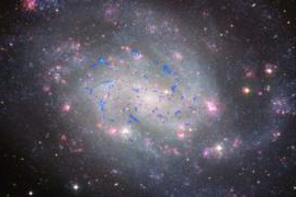 molecular clouds in galaxy NGC300