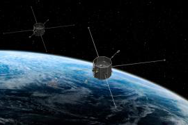 twin TRACERS satellites orbiting Earth